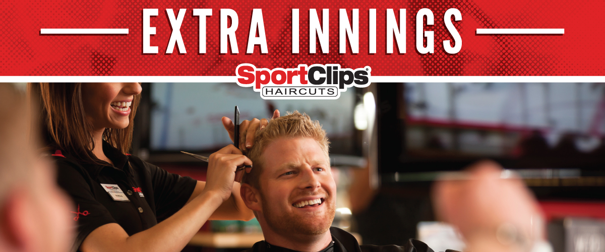 The Sport Clips Haircuts of Bend Extra Innings Offerings